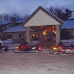 Snowmobile stop overnight