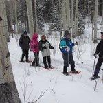 Beautiful snowshoe trip in Feb '14