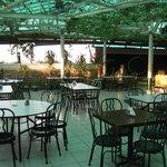 The 8th floor Pool Bar/Restaurant.