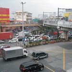EDSA Highway,Pasay City ~ A very busy area outside.