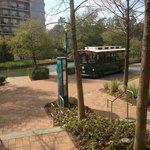 Marriott trolley stop