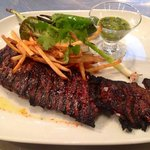 Grilled Angus Skirt Steak - Saturday Evening Bistro Menu