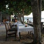 Restaurant al fresco