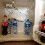 defekter Minibar Kühlschrank