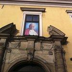 Residenza dove è stato il papa