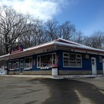 New Guida's Diner,3/4 View