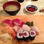 Sushi e miso