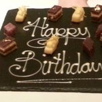petit fours for the birthday girl