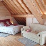 Rubis : Chambre-chalet sur le toit