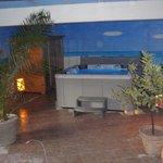 Spa 5 places dont 2 allongées et sauna infrarouge