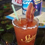 Bacon strip for the build your own mary!!