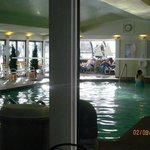 Heated indoor pool by the main reception.