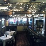 The bar area at Jonathan's Restaurant.