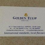 Foto de Golden Tulip Amritsar