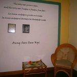 Room Aung San Suu Kyi