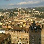 Panorama sulla città di Giulietta