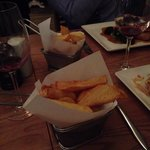 Triple cooked chips in beef fat ��