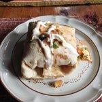 Big chicken burrito!