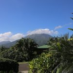 View of Arenal from my sitting patio