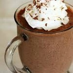 A Hot Chocolate with Santigi for the cooler Cretan days.