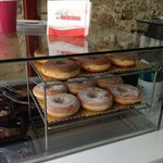 A display of our deliciously yummy donuts.....