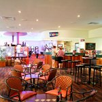 Enjoy a cold one is our lounge bar. Family friendly.