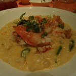 risotto au homard