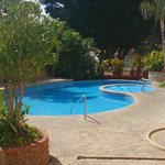The pool at Adventure Inn