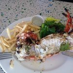 lobster and chips!