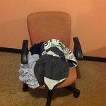 veja a arrumação das roupas