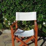 sillas de la terraza