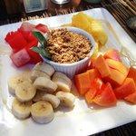 Frutas al desayuno