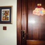 Puerta de la habitacion