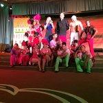 Spectacle avec les danseurs