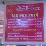 Tarifario 2014