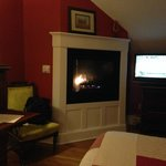 Fireplace in Winterberry Room