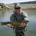 That is me with a trout.