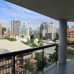 View of Brisbane CBD from Balcony