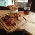 Small butcher's platter (for sharing?)