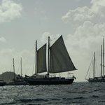 """The schooner """"Scaramouche"""""""