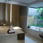 Pool villa bathroom