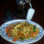 Cashew nut chicken Thai style