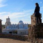 Overlooking San Xavier del Bac