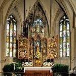 ノンベルク教会内部