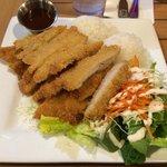 The Chicken Katsu - huge portion!