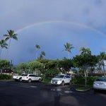 Double Rainbow one morning