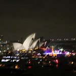 シドニーオペラハウス夜景