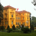 Presidential Palace at the Ho Chi Minh Complex