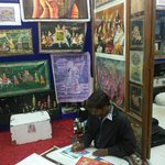 Studio of Guddu Artist, Pushkar - Special collection of nice hand paintings.