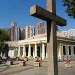 Crucifix & piazza